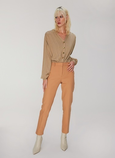 People By Fabrika Klasik Pantolon Camel